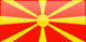 Republic of North Macedonia Flag